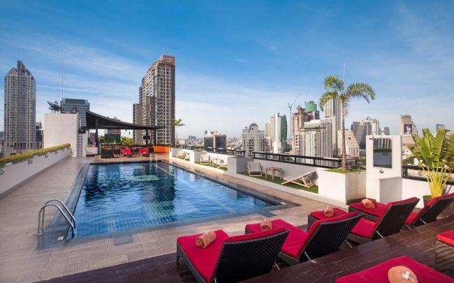 Furama Silom sky pool